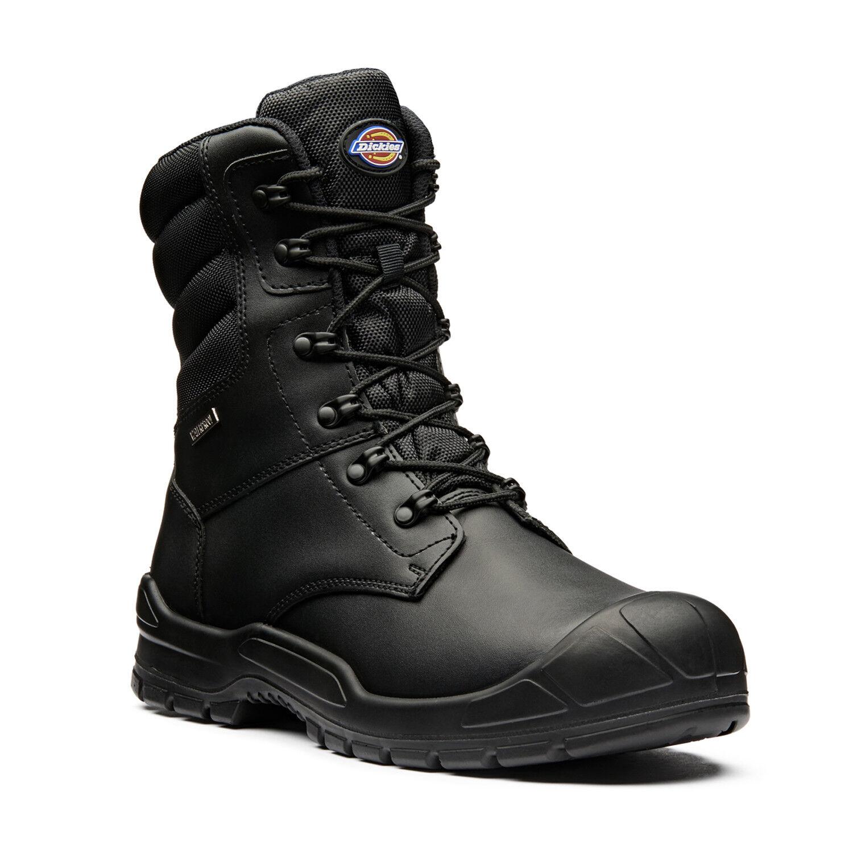 Dickies Trenton Sicurezza Lavoro Stivali Pro Nero (Taglia 6-12) Scarpe da uomo