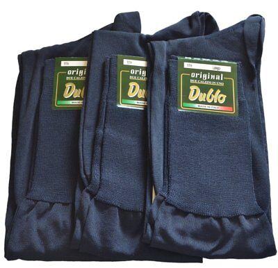 Lot de 24 Paires de Chaussette Fil d/Écosse 100/% Coton Remaill/é Ultra Confort