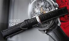 PADDED DEPLOYMENT LEATHER STRAP TO FIT TISSOT PRS200 t362.462 T362/462K