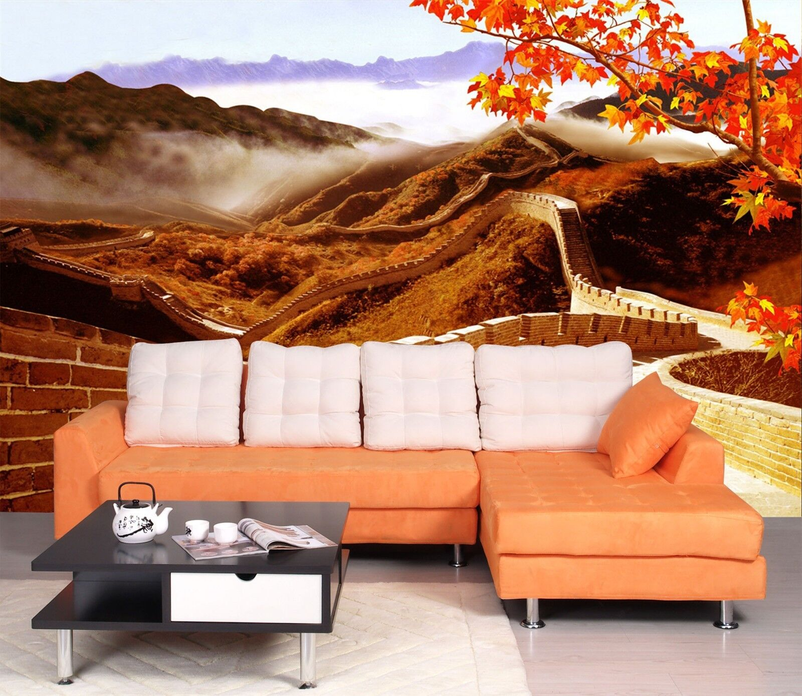 3D Great Wall 7055 Wallpaper Mural Wall Print Wall Wallpaper Murals US Lemon