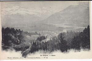Le-Fayet-la-Gare-Haute-Savoie-CPA