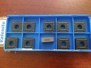 Valenite-Indexable-Carbide-Turning-Inserts-SNMG432-M3-Grade-5615-Qty-10