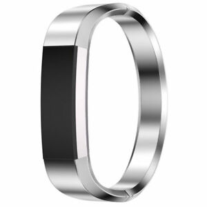 Details about Silver For Fitbit Alta HR Replacement Metal Band Stainless  Bracelet Strap M Size