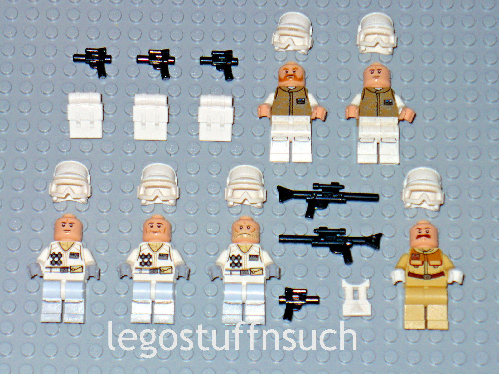 NEW NEW NEW LEGO Star Wars™ 75098 Rebel Officer Trooper minifigure figure Hoth Echo army 6d255d