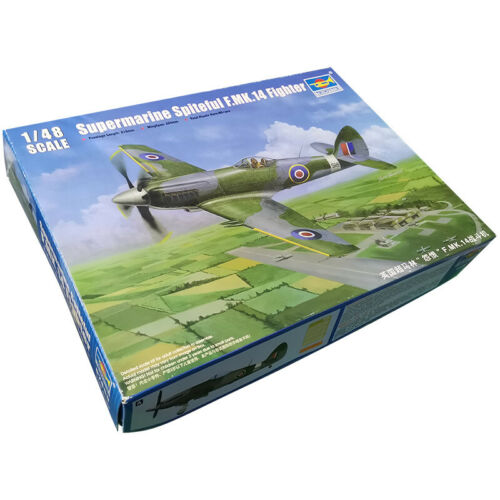 Trumpeter Military Assembly 1//48 Super Marin Hate F.MK.14 fighter model 02850