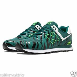 new balance 574 dark green