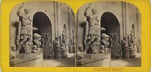 Museo Da Napoli Italia Stereo Vintage Ca 1875