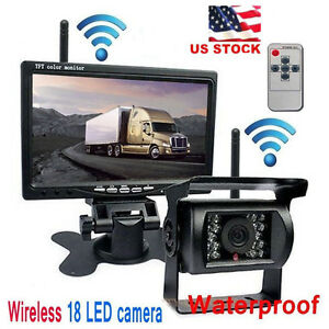 Tv, Video & Home Audio 2.4ghz Wireless Rear View Video Transmitter & Receiver For Car Camera Monitor Car Video