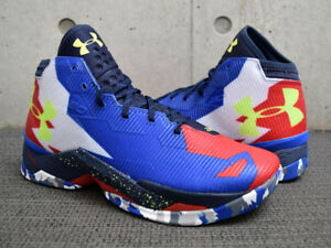 Under-Armour-Curry-2-5-Basketball-Shoes-1274425-402-Size-9-durant-klay-kobe-BNIB