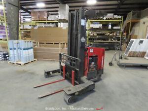 2000 Raymond EASi-4D-R45TT 4,500 lbs 36V Electric Warehouse Forklift bidadoo