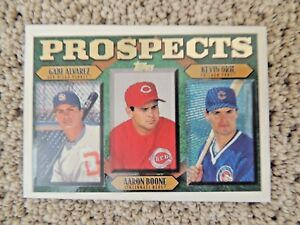 Details About Aaron Boone 1997 Topps 204 Prospects Rookie Card Yankees