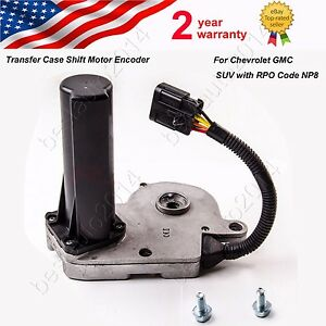 Fits chevrolet gmc suv with rpo code np8 transfer case for Transfer case motor replacement cost