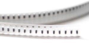 100-x-270R-270-Ohm-Mini-Melf-5-0204-0-125Watt-SMD-Widerstaende-SMT-Resistors