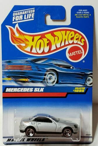 Saw Blade Wheels 1998 Hot Wheels Mercedes SLK #1095 Metallic Silver