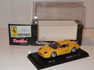 (k) Corgi Detail Cars Ferrari 512 M -92944 Art 321-afficher Le Titre D'origine Paquet éLéGant Et Robuste
