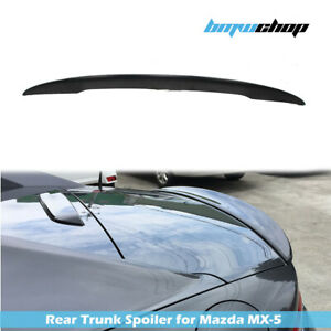 Unpainted Fit For Mazda MX5 MX-5 Miata Roadster ND P Style Rear Trunk Spoiler
