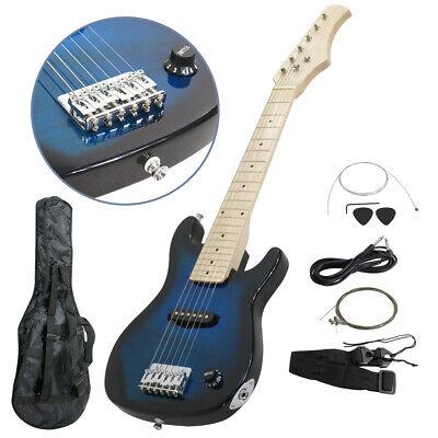 Guitar Accessories Combo : 30 kids blue electric guitar w much more guitar combo accessory bag kit 700161267648 ebay ~ Russianpoet.info Haus und Dekorationen