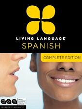 Living Language Spanish, Complete Edition: Beginner through Advanced Course CD