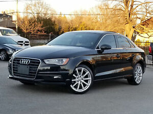 2016 Audi A3 1 OWNER NO ACCIDENT AWD 2.0T ALLOY ROOF PUSH START