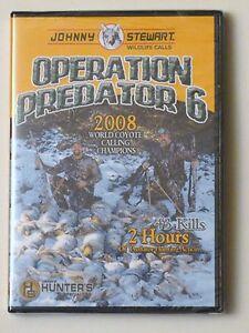 JOHNNY-STEWART-OPERATION-PREDATOR-6-HUNTING-DVD-2-HOURS-43-KILLS-GREAT-GIFT