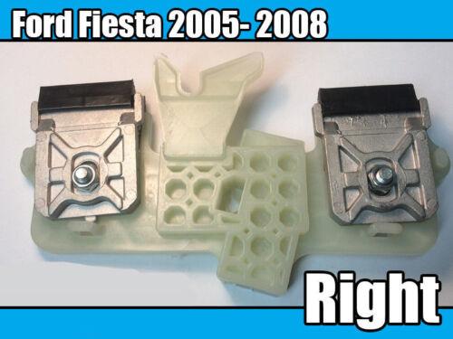 Ford Fiesta 2005-2008 fenêtre clips côté conducteur Droit Fenêtre