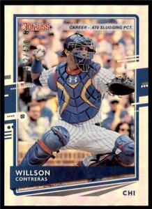 2020-Donruss-Career-Stat-Line-197-Willson-Contreras-470-Chicago-Cubs