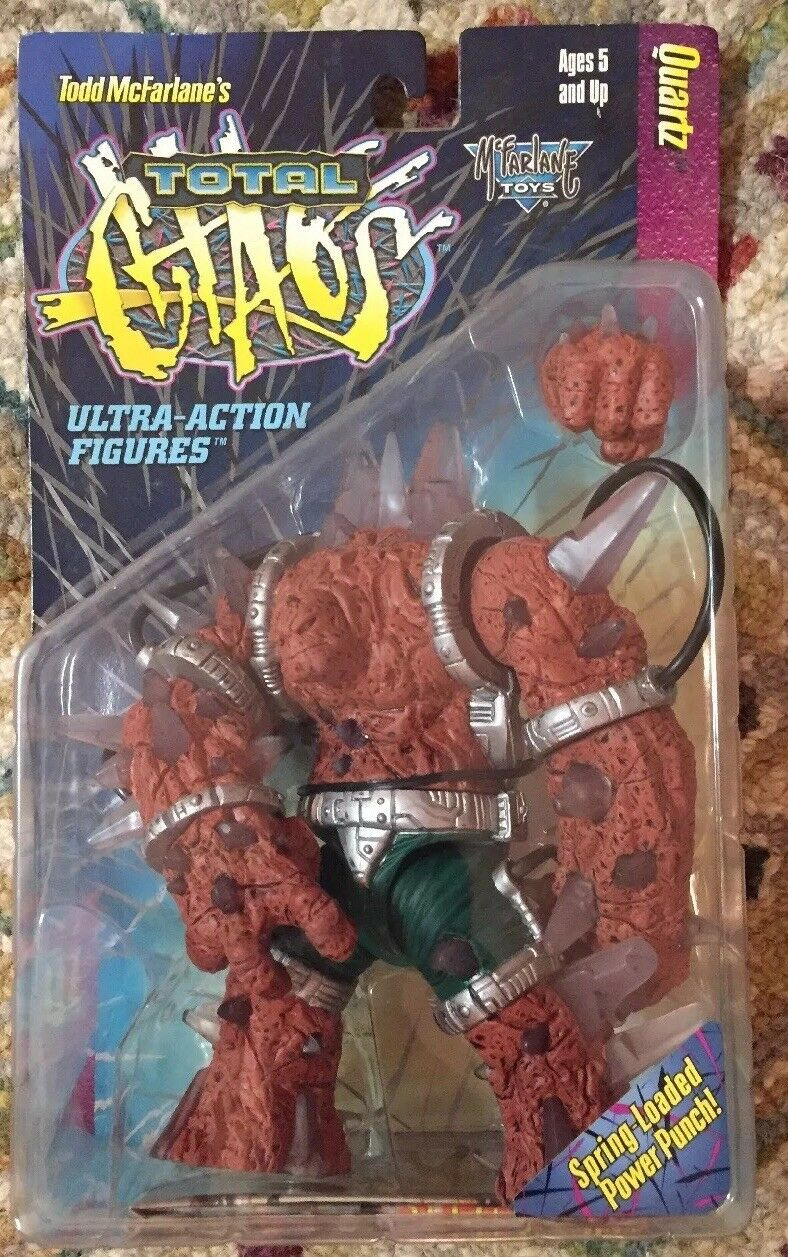 Lot Of 5 McFarlane SPAWN TOTAL CHAOS Series 1 Action Figures (1996)