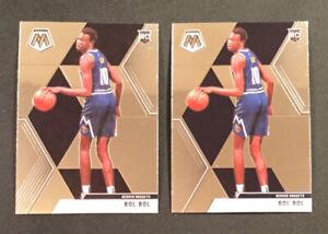 2019-20-Panini-Mosaic-BOL-BOL-ROOKIE-222-Base-RC-Lot-of-2-NBA-Denver-Nuggets