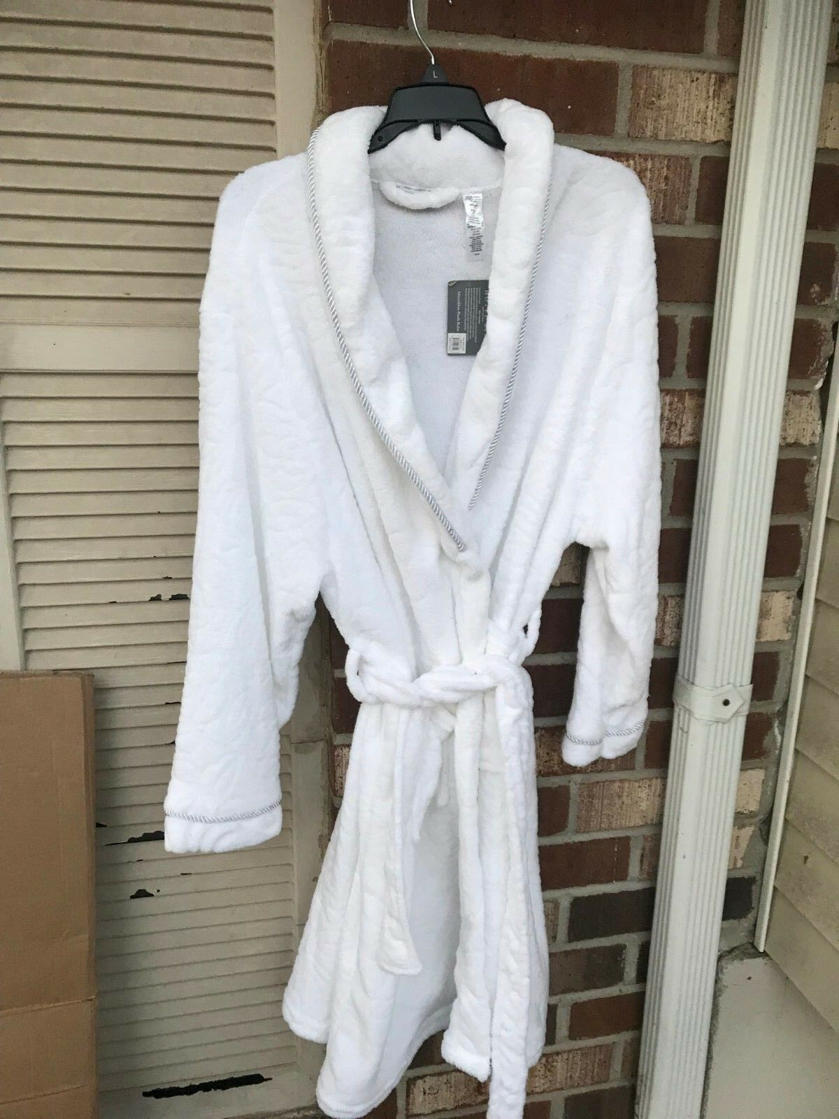 Hotel Spa Collection, One Size Fits White Robe