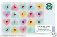 2014 Starbucks Card - Valentine's Day - Sweetheart Candies Spell It Out!