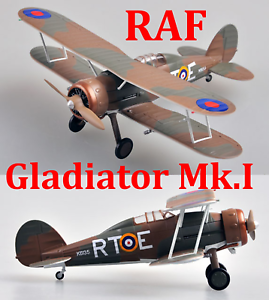 Easy Model 1//72 Gladiator Mk.I 1//1//2 le Escadrille du ler Grouppe #36459