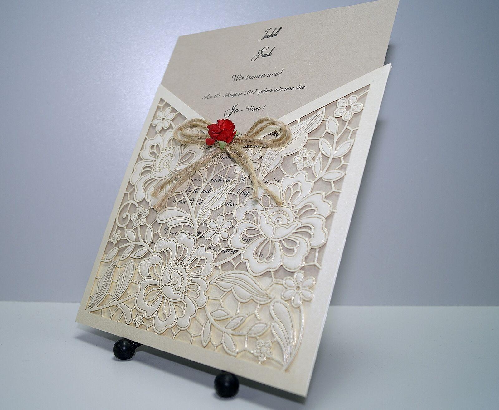 Einladungskarten Hochzeit FE354B mit Umschlag     Hochzeitseinladungskarten | Merkwürdige Form  d1c422