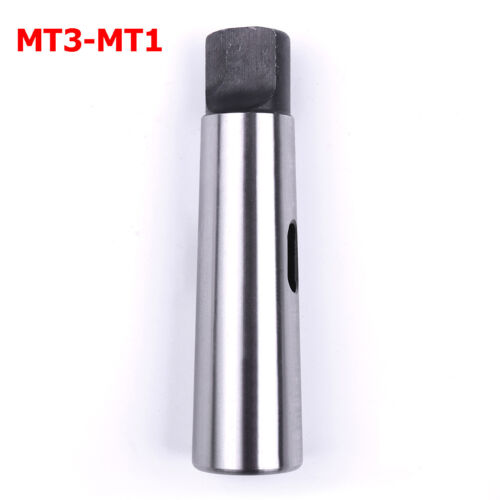 MT3 to MT1 50 HRC Morse Taper Adaptor for Lathe or Milling Machine