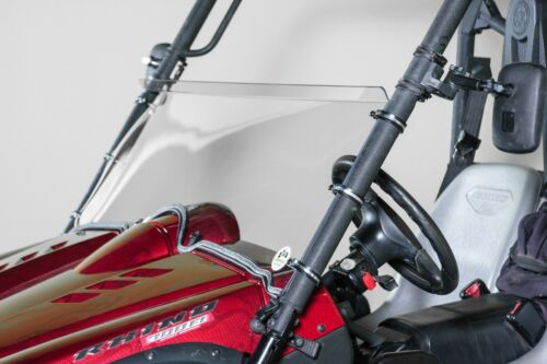 "Yamaha Rhino Half UTV Windshield 3//16/"" Scratch Resistant"