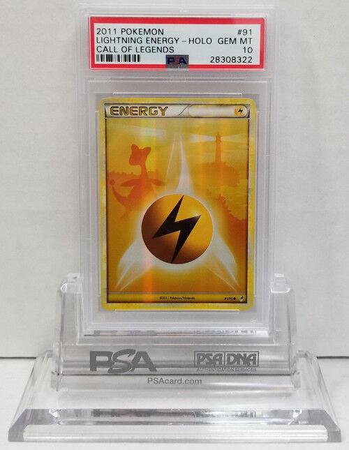 Pokemon Call of Legends LIGHTNING Energy Energy Energy 91 95 Holo PSA 10 GEM MINT 3da5a8