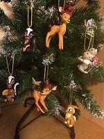 Disney Bambi Christmas Tree decorations ornaments 7 Pcs