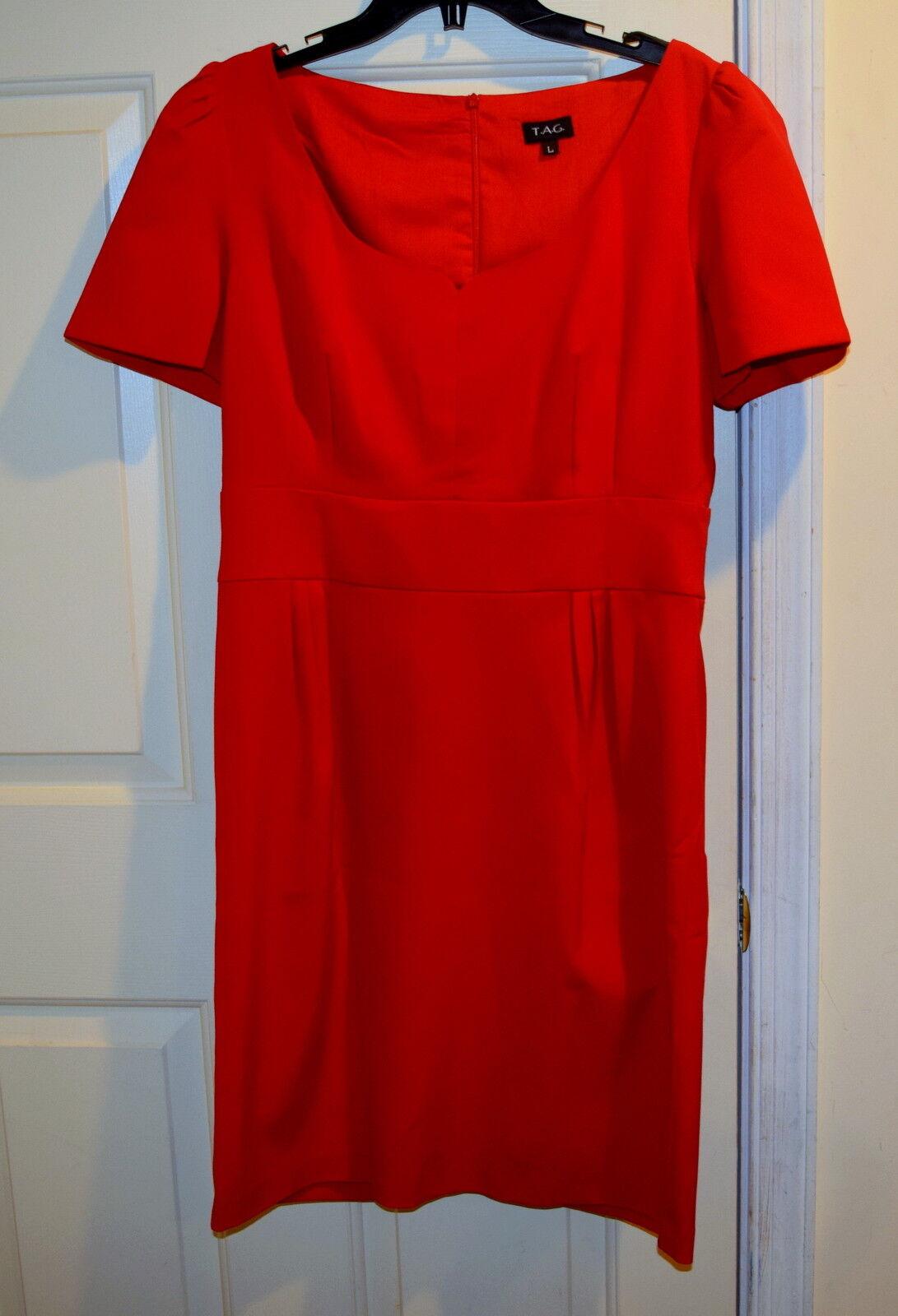 New Womens SINCLAIRE Dress SEXY EMPIRE WAIST SHORT SLEEVE DRESS 12 BERRY