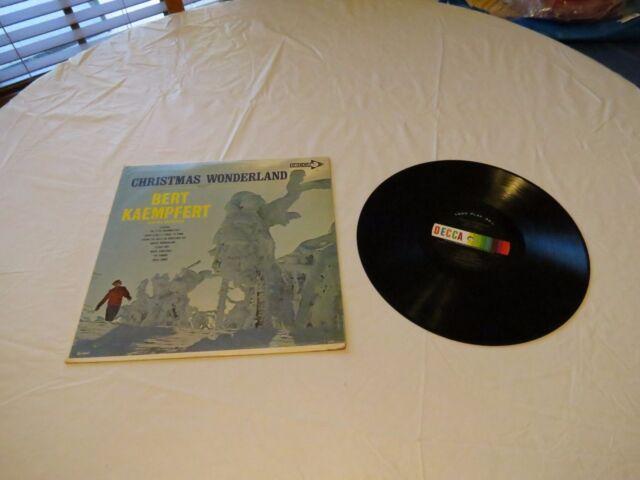 Christmas Wonderland Decca Bert Kaempfert Orchestra LP Album RARE Record vinyl