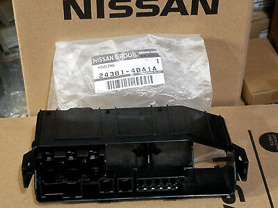 Nissan Rogue Accessories >> NEW Genuine Nissan Rogue 2014-2018 Fusible Link Holder Fuse Box 24381-4BA1A | eBay