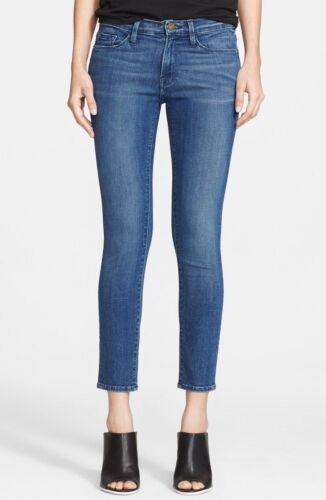 Jeanne Le De 27 Taglie Aderente Denim Sunnyside Frame Jeans Lavare Medio fBxP7qxtw