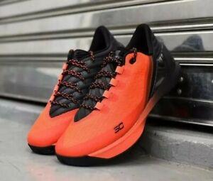 Low Basketball Shoes Red Orange Black