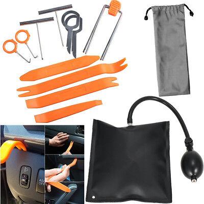 Auto Air Inflatable Pump Wedge Airbag Shim Car Door Window Pry Hand Tool Repair
