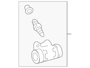 Genuine Toyota Wheel Cylinder 47570-02020