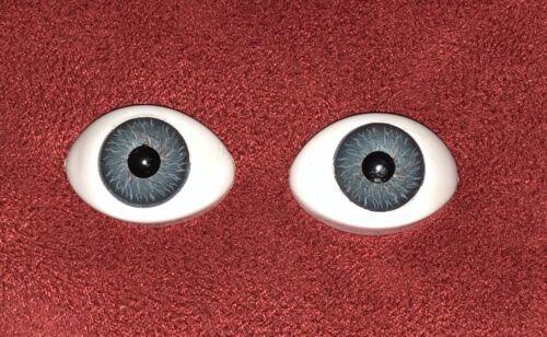 13 mm 1Paar//2 Stück Farbe Grau Acryl Augen Puppen Reborn 25x16 mm