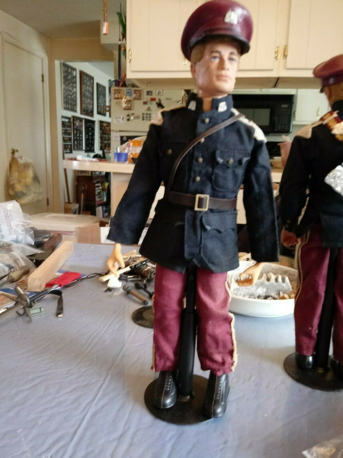G. I. Joe  azioneuomo Royal Hussar Cavalry Trooper 1970's 11th Hussars 2