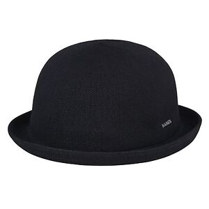 Image is loading NEW-2018-KANGOL-Tropic-Bombin-Hat-Black-RRP- 0d15fb692ee