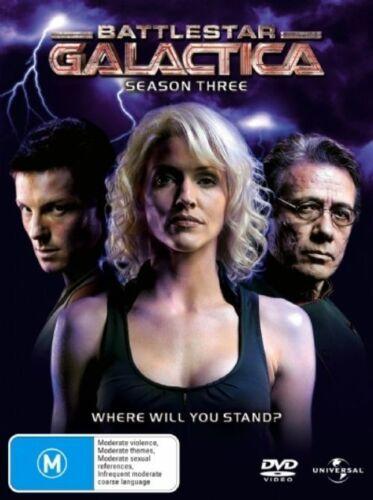1 of 1 - Battlestar Galactica : Season 3 (DVD, 2007, 5-Disc Set)