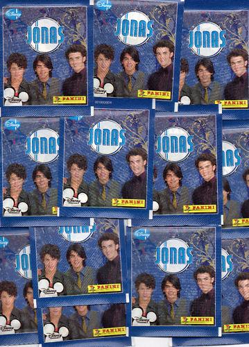 Jonas//Disney//50 cartocci Adesivo//Panini