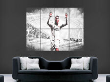 REAL MADRID CRISTIANO RONALDO POSTER LA LIGA FOOTBALL  POSTER  ART PRINT SOCCER