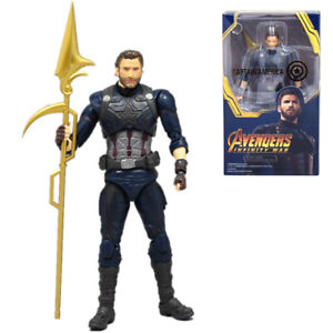 S-H-Figuarts-SHF-Marvel-Captain-America-Infinity-War-Action-Figure-15CM-Toy
